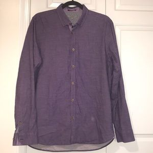 Ted Baker London Purple Button Down